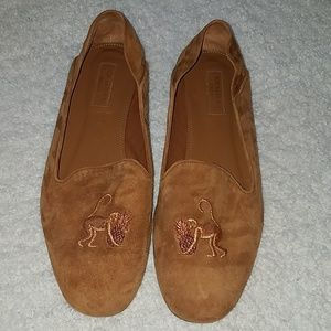 Aquazzura 39 Monkey in Brown Loafers